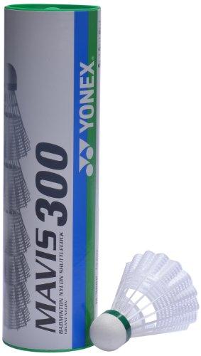 (Yonex Mavis 300 Nylon Shuttle Cock (White))