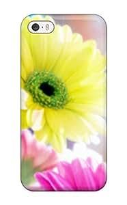 Excellent Design Glamorous Flowers Phone Case For Iphone 5/5s Premium Tpu Case