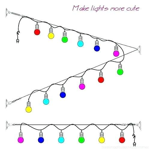 Turnbuckle and Hooks Outdoor Lights Hanging Kit Garden Heavy-Duty Vinyl-Coated Stainless Steel Guide Wire Rope Cable 300 FT Globe String Lights Suspension Kit for Patio Indoor