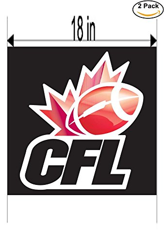 CFL Canada Soccer Football Club FC 2 Stickers Car Bumper Window Sticker Decal Huge 18 inches