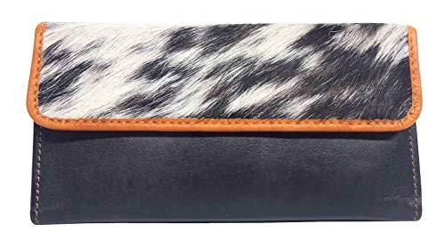 (Leather Book RFID LW-1801 Jersey Duck Ladies Slim Clutch | RFID Blocking | 7