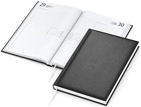 geiger notes - Image 2020 Buchkalender A5 Kalender 2020, 352 Seiten, Eckenperforation, Balacron-Einband schwarz