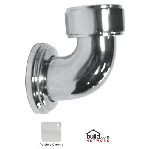 Rohl U.5398APC U.5398 Perrin And Rowe Return Elbow for Therm Mixer, Polished (Rohl Return Elbow)
