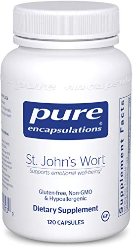 Cheap Pure Encapsulations – St. John's Wort – Hypoallergenic Supplement Promotes Emotional Well-Being* – 120 Capsules