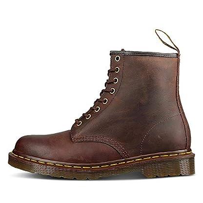 Dr. Martens Unisex-Adult 1460 Lace-Up Boots Brown (Gaucho Crazyhorse 203), 6 UK (39 EU) 6
