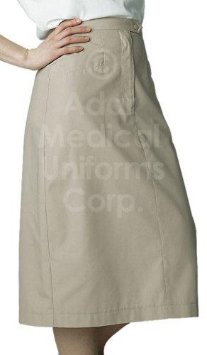 Adar Mid-Calf Length Angle Pocket Skirt