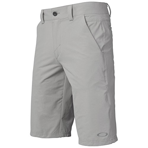 Oakley Men's 2.5 Take Shorts, Stone Gray, Size -