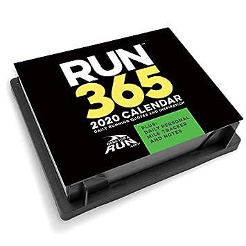 Running Calendar 2020 Amazon.: 2020 Runner's Daily Desk Calendar by Gone For a Run
