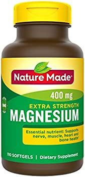 110-Count Nature Made Extra Strength Magnesium Oxide 400 mg Softgels