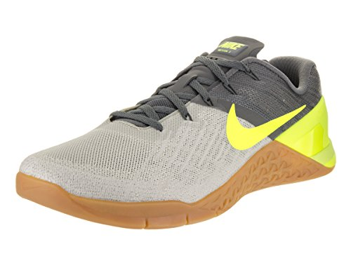 411fa24a58a Nike Men s Metcon 3 Dark Grey Volt Page Grey Training Shoe 13 Men US - Buy  Online in UAE.