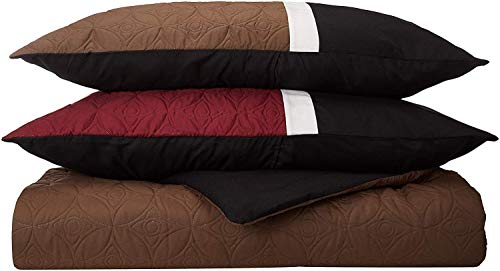 Chezmoi series 7 Piece Quilted Comforter Sets