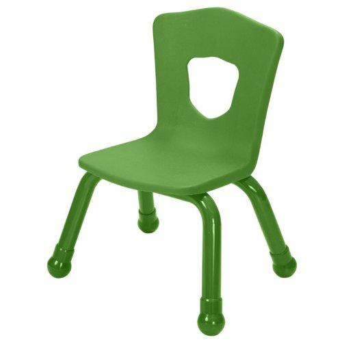Balt Kids Chair, 9-1/2-Inch, Steel Frame, Green -