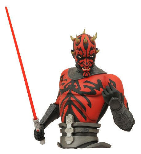 Darth Statue Maul (Diamond Select Toys Star Wars: The Clone Wars: Darth Maul Bust Bank)