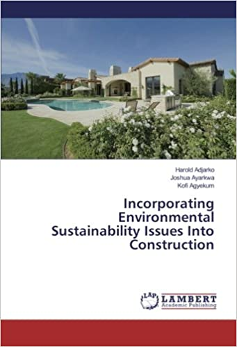 Book Incorporating Environmental Sustainability Issues Into Construction