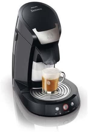 PHILIPS Cafetera Senseo Cappuccino HD7853/61 – negra + Porta ...