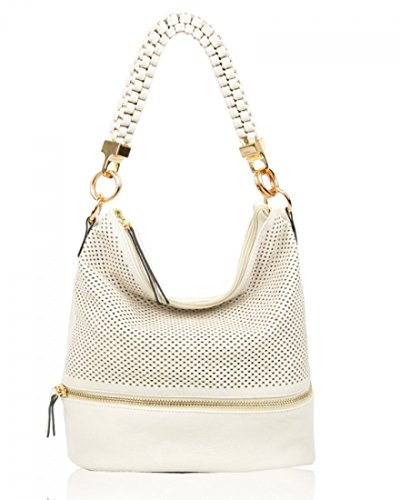 Bag Handbags Fashion Tote For Shoulder Soft Women's Style Leahward Cw150906 Her Bags Pearl UqK0SH4