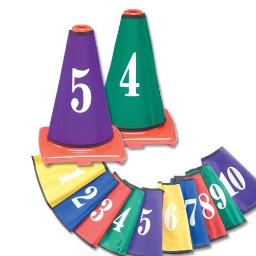 Color My Class® Cone Covers - Covers Numbers Class Cone