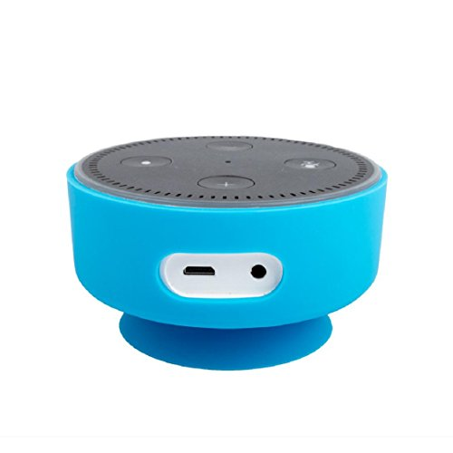 For Amazon Echo Dot, Mchoice Silicone Protective Case Cover for Amazon Echo Dot (Sky Blue)