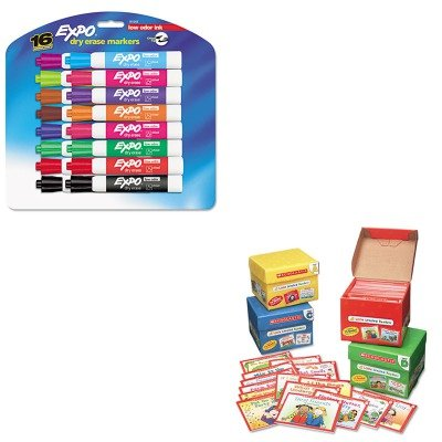 2390 - Value Kit - Scholastic Little Leveled Readers Mini Teaching Guide (SHS0439632390) and Expo Low Odor Dry Erase Markers (SAN81045) ()