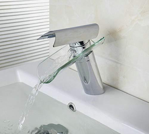 Eeayyygch Bad Basin Wasserhahn torneira Wasserfall Wasserhähne Einhebel Spüle Becken Mischbatterie Wasserhähne warm & kalt (Farbe   -, Größe   -)
