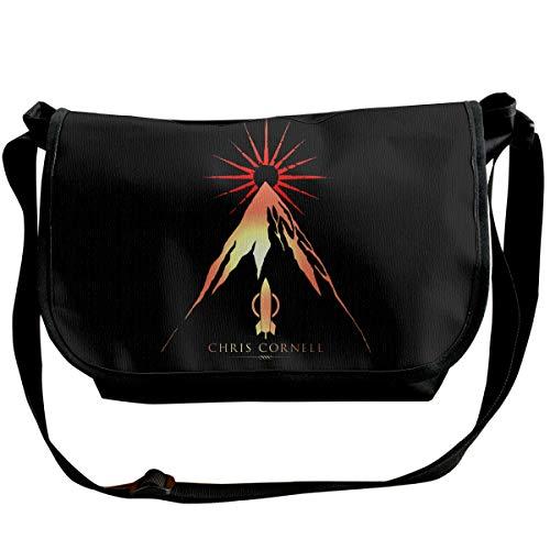 PEACE NEW STORE Messenger Bag 12 Inch Chris Cornell Shoulder Bag For Work & -