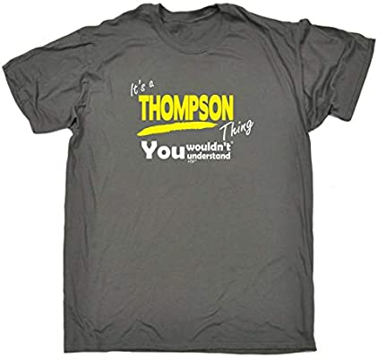 Your Name V1 Surname Thing Funny Novelty T-Shirt Mens tee TShirt