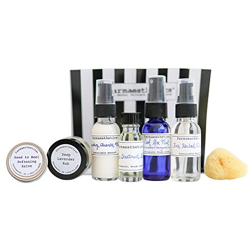 Farmaesthetics On-The-Go Six-Piece Travel Set made in Rhode Island
