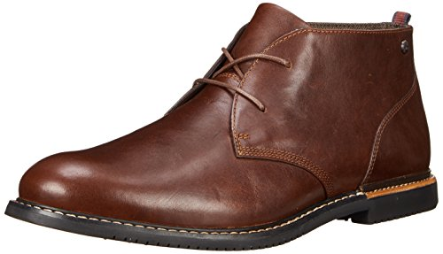 Timberland Men's EK Brook Park Chukka Boot,Red/Brown Smooth,11 M US