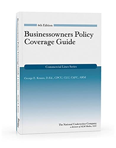 amazon com businessowners policy coverage guide 6th edition rh amazon com Kindle User Guide Latest Edition Kindle User Guide 1st Edition