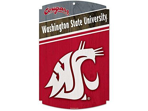 WinCraft NCAA Washington State University Wood Sign, 11