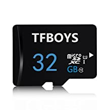 TFBOYS 32GB Micro SDHC Class 10 TF Memory Card with Micro SD Card Reader for Mobile, Tablet, Cameras and Cell Phone MicroSD Card