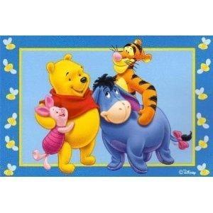 Huge Disney Pooh and Friends 133cmx200cm Non-slip Area Rug