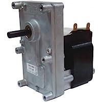 Motorreductor Estufa Pellets T3 al. 220 VAC 4,75 RPM Pacco 38 Árbol 8