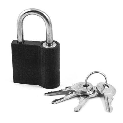 Puerta Inicio Gabinete Negro de bloqueo de seguridad candado 2,4 largo w 4 claves