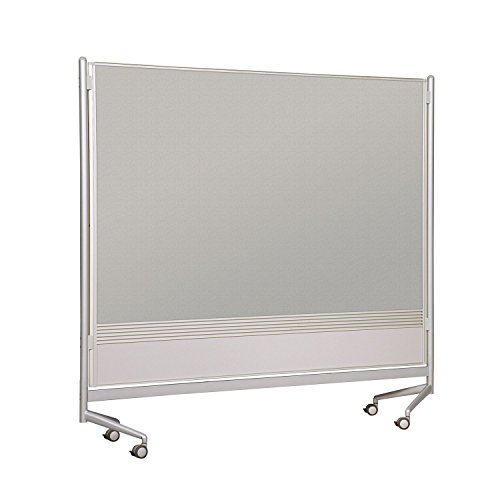 Balt Mobile Double Sided Divider Decorative Laminate Both Sides DOC Room Partition 6'H x 4'W electronic consumers