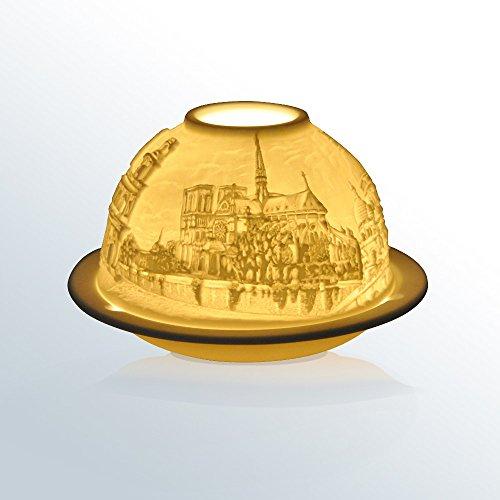 Bernardaud Votives - Bernardaud Limoges Porcelain Churches of Paris France Votive Lithopane