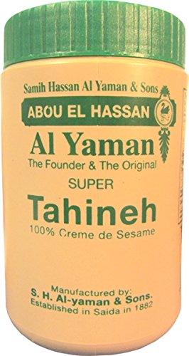 Al Yaman libanés Original Sésamo Tahini (Pack de 2).
