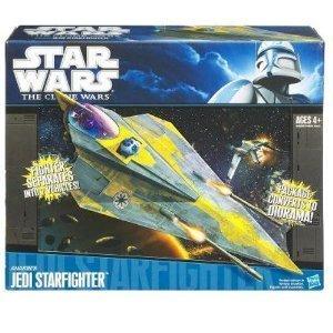 (Anakins Starfighter Star Wars Clone Wars Vehicle)