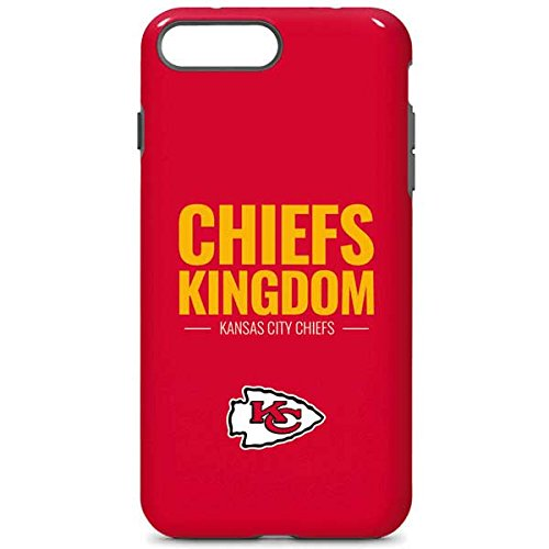 Skinit Kansas City Chiefs Team Motto iPhone 7 Plus Pro Case - Officially Licensed NFL Phone Case, Scratch Resistant iPhone 7 Plus Cover ()