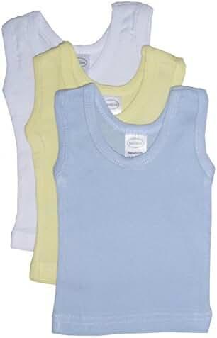 Bambini Baby Boys Girls Unisex 3-Pack Sleeveless T-Shirts Tanks