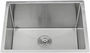 "KABCO K-SSLA23-PKG Laundry Sink Undermount Single Bowl Stainless Steel 23"" X 18"" X 12"""
