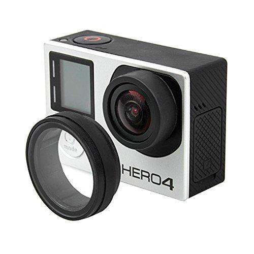 UV Lens Cover Optical Glass Lens Cover for GoPro Hero 4 / 3+