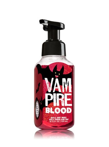 Bath & Body Works Gentle Foaming Hand Soap Vampire Blood 2017