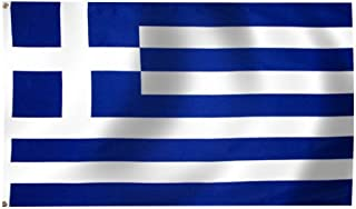 product image for Eder Flag - Greece Flag - Endura-Nylon - 3 Foot by 5 Foot