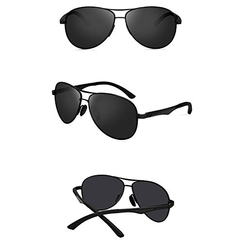Color 1 Driving Mirror 1 Sunglasses New de Polarizing Driver Style Sol Gafas DT wn87Hg0vx