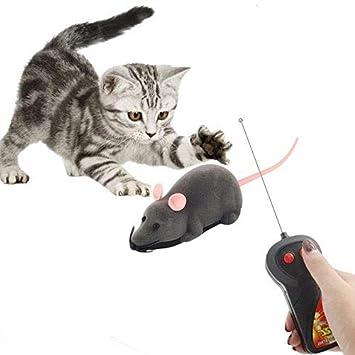 Nanxin Juguetes para Gatos, Juguete Ratón de Control Remoto ...