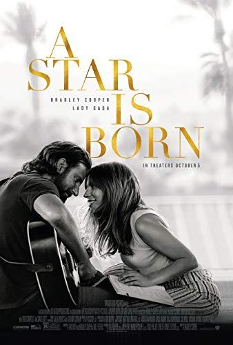 A STAR IS BORN MOVIE POSTER 2 Sided ORIGINAL FINAL 27x40 LADY GAGA BRADLEY COOPER