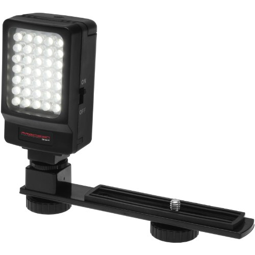 Precision Camera Flash - Precision Design Digital Camera / Camcorder LED Video Light with Bracket