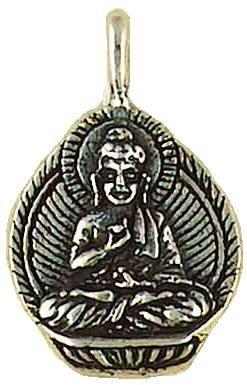 Buddha in Meditation Hindu /& Buddhist Sterling Silver .925 Pendant