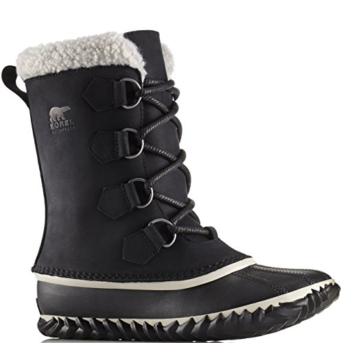 Sorel Womens Caribou Slim Black Boot - 10